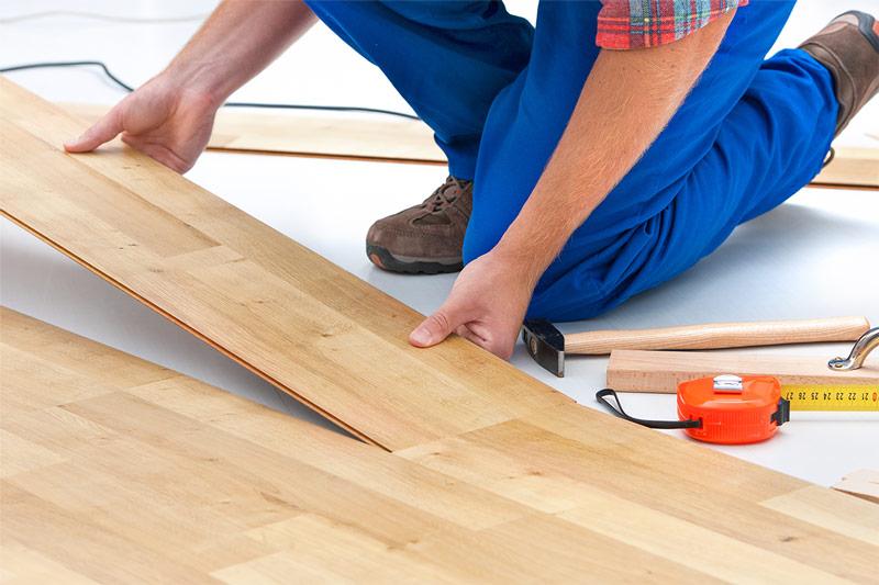 Wood floor fitting service Dublin