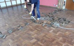 Gap Filling And Floor Repairs