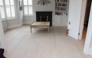 Limewash And Whitening Floors