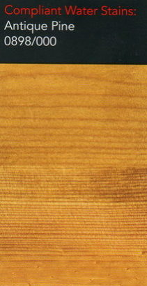 Morrells antique pine water stain for wood flooring