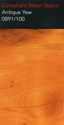 Morrells antique yew water stain for wood flooring