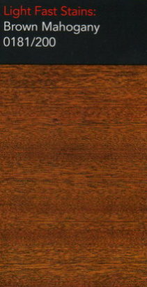 Brown mahogany light stain for wooden floor