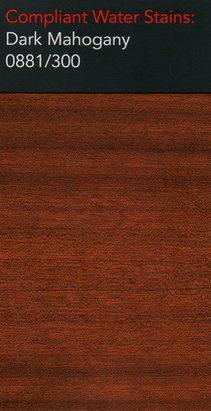 Morrells dark mahogany water stain for wood flooring