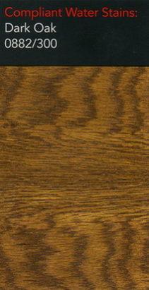Morrells dark oak water stain for wood flooring