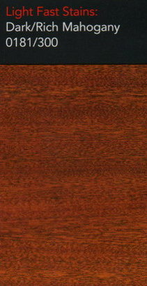 Dark rich mahogany light stain for wood floors