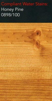 Morrells honey pine water stain for wood flooring