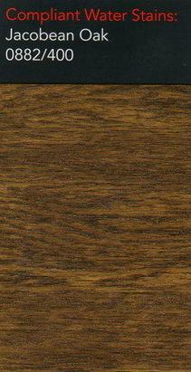 Morrells jacobean oak water stain for wood flooring
