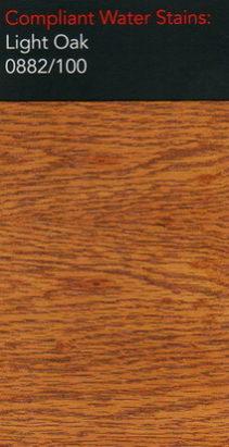 Morrells light oak water stain for wood flooring
