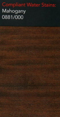 Morrells mahogany water stain for wood flooring