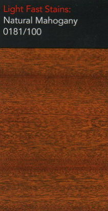 Natural mahogany light stain for wooden floors