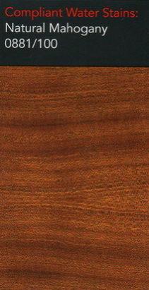 Morrells natural mahogany water stain for wood flooring