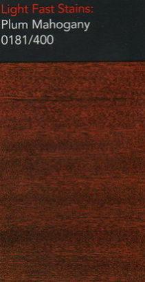 Plum mahogany light stain for wooden floors