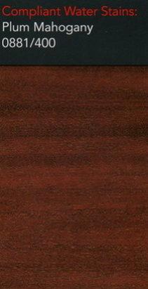 Morrells plum mahogany water stain for wood flooring