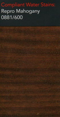 Morrells repro mahogany water stain for wood flooring