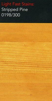 Stripped pine light stain for wooden floors