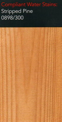 Morrells stripped pine water stain for wood flooring