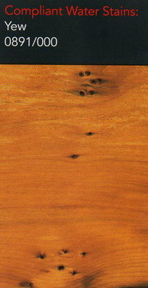 Morrells yew water stain for wood flooring